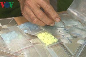 Đối tượng vận chuyển ma túy bỏ chạy khi bị phát hiện nhưng bất thành