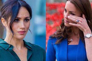 Người hâm mộ choáng váng trước tin Meghan từng khiến Công nương Kate bật khóc nức nở vì hành động này