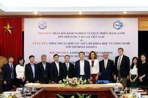 Bộ KH&CN hợp tác với Tập đoàn Xinova thành lập Trung tâm Đổi mới sáng tạo hỗ trợ nền kinh tế công nghệ mới