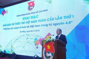 Phó Thủ tướng: 'Trí thức trẻ dù sống ở đâu đều là tinh hoa, vốn quý của đất nước'