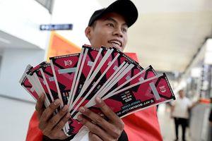 Trang web mua vé bán kết AFF của Philippines đơn giản, nhanh gọn