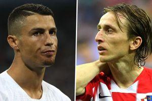Báo Tây Ban Nha: Ronaldo về nhì, Modric giành Quả bóng vàng 2018