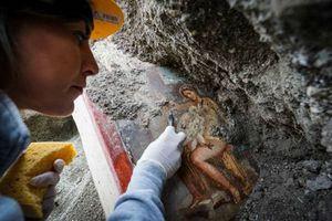 Italia: Tìm thấy bức tranh La Mã cổ về chủ đề 'phong the' tại Pompeii