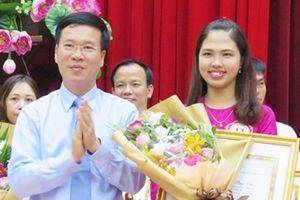 Nữ giảng viên Quảng Trị đạt giải Nhất hội thi 'Giảng viên chính trị lý luận giỏi toàn quốc năm 2018'