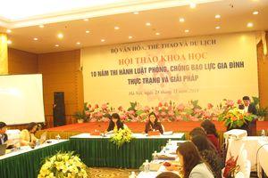 Việc sửa đổi Luật Phòng, chống bạo lực gia đình và các văn bản quy phạm pháp luật là cần thiết