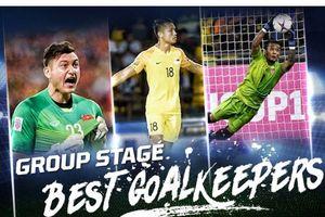 Đặng Văn Lâm có tên trong Top 3 thủ môn xuất sắc nhất ở vòng bảng AFF Cup 2018