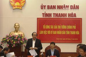 Thủ tướng lưu ý Thanh Hóa cần khắc phục tình trạng 'quan lộ thần tốc' gây bức xúc