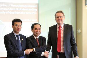 PVN - PV GAS ký kết thỏa thuận về việc cung cấp khí từ mỏ Tuna