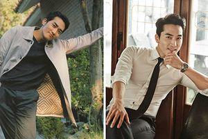 Ngắm gu thời trang của mỹ nam Song Seung Hun sắp tới VN