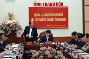 Thanh Hóa: Đề nghị Chính phủ xem xét một số vấn đề quan trọng