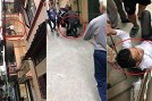 Vây bắt tên trộm leo tường tẩu thoát như 'người nhện' ở Hà Nội