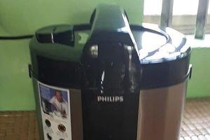 Khách hàng 'tố' nồi cơm điện Philips mua ở Điện Máy Xanh kém chất lượng?