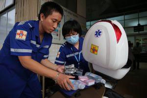 Nhiều bệnh viện xin thí điểm xe cấp cứu 2 bánh