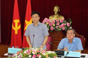 Bộ trưởng Lê Thành Long làm việc tại Đồng Nai: 'Tư pháp phải là người 'gác cửa' sáng suốt'