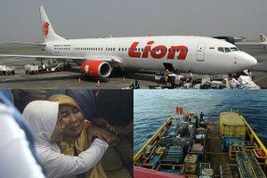 Máy bay Lion Air đã 'chúi mũi' 25 lần trước khi lao xuống biển