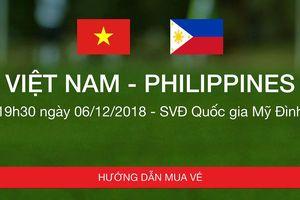 Quá khó để mua một chiếc vé online trận Việt Nam - Philippines