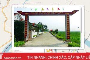 Bản đồ số nông thôn mới Hà Tĩnh: Công cụ hữu ích