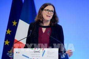 EU kêu gọi Mỹ đàm phán về cải cách WTO