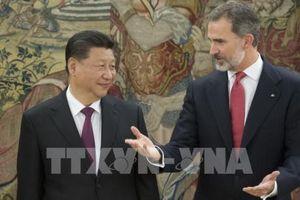 Chủ tịch Trung Quốc thăm chính thức Tây Ban Nha