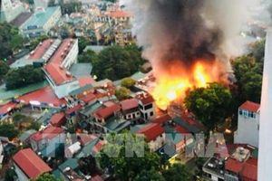Hà Nội: Khởi tố bị can trong vụ hỏa hoạn tại nhà trọ ở Đê La Thành