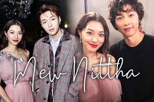 Nữ diễn viên Thái Lan Mew Nittha rạng rỡ trong sự kiện lớn ở Tokyo cùng Lay (EXO), Song Joong Ki, Dương Mịch….