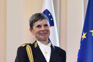 Nữ Tổng tham mưu trưởng đầu tiên của quân đội Slovenia