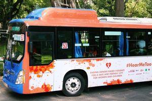 TPHCM: 26 xe buýt màu cam thân thiện với phụ nữ và trẻ em