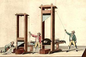 Vì sao máy chém là cách tử hình nhân đạo nhất thời xưa?