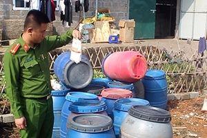 20 tấn lòng lợn được sơ chế bằng hóa chất ở Móng Cái