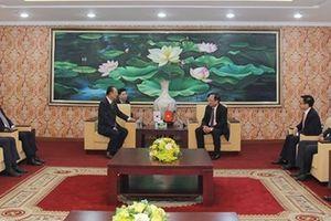 Lãnh đạo Bộ Công an Việt Nam tiếp Tập đoàn Charmvit Hàn Quốc