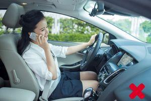 Đừng 'đùa' với tử thần khi vừa nghe điện thoại vừa lái xe