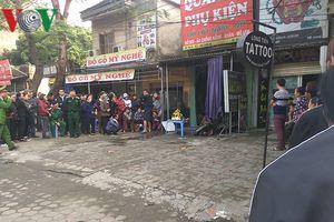 Cháy cửa hàng quần áo trong đêm làm một người tử vong tại Hà Nội
