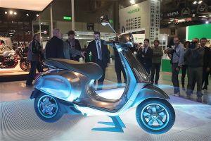 Vespa dự định mang xe điện Elettrica tích hợp trí tuệ nhân tạo về Việt Nam