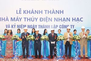 Tập đoàn Hà Đô (HDG) đưa vào vận hành Nhà máy thủy điện Nhạn Hạc