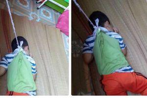 Vụ bé trai 4 tuổi bị buộc dây vào người ở trường mẫu giáo: Sở Giáo dục Đào tạo Nam Định vào cuộc xác minh