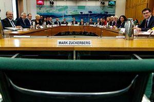 Các nghị sĩ 9 quốc gia chất vấn Facebook về bảo mật dữ liệu người dùng