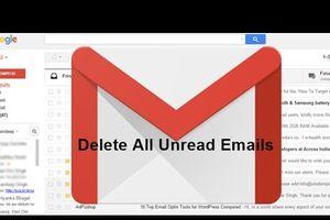 Cách xóa tất cả thư chưa đọc trong hộp thư đến Gmail