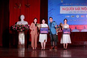Sinh viên Đại học Ngoại ngữ giành vị trí quán quân cuộc thi hùng biện 'Người Hà Nội'