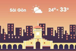 Thời tiết ngày 29/11: Sài Gòn và Hà Nội nắng đẹp