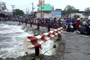 Tìm thấy thanh niên bị nước cuốn trong đêm mưa kỷ lục ở Sài Gòn
