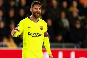 PSV vs Barca (1-2): Messi kiến tạo và ghi bàn đẹp mắt