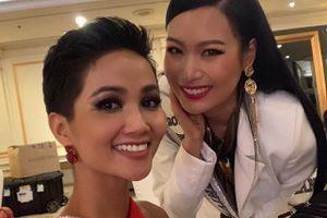 H'Hen Niê và dàn người đẹp Hoa hậu Hoàn vũ rạng rỡ tại Thái Lan