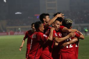 Thầy trò HLV Park Hang Seo lọt top 100 đội bóng mạnh nhất thế giới