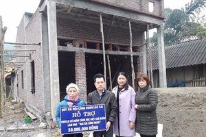 LĐLĐ tỉnh Lào Cai trao nhà mái ấm cho đoàn viên khó khăn về nhà ở