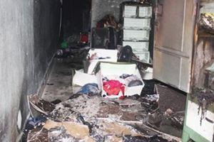 Nghi buồn chuyện gia đình tự châm lửa đốt nhà, một thanh niên bị bỏng nặng