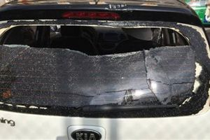 Cô gái lao xe vào CA tỉnh: Chồng hờ lên tiếng