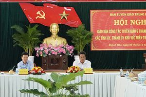 Tiếp tục đổi mới công tác tuyên giáo tại miền Trung-Tây Nguyên