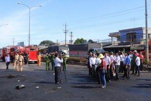 Khởi tố vụ cháy xe bồn chở xăng dầu gây hỏa hoạn làm 6 người chết