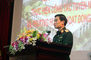 Bệnh viện Quân y 103 tổ chức Hội nghị tổng kết công tác tuyến năm 2018
