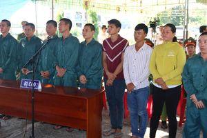 Xét xử 9 đối tượng tham gia gây rối ở tỉnh Bình Thuận